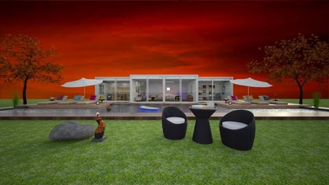 Sunset Garden - Modern - Garden - by Art_Decoration