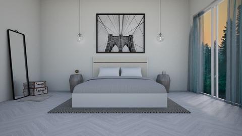 Minimal  - Bedroom  - by smileslab