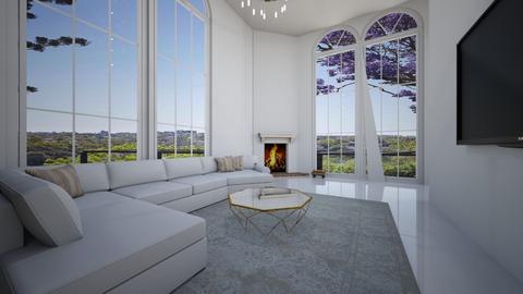 minimalist living room - Minimal - Living room  - by natalka2006