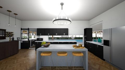 1st kitchen - Kitchen  - by anza_sanga