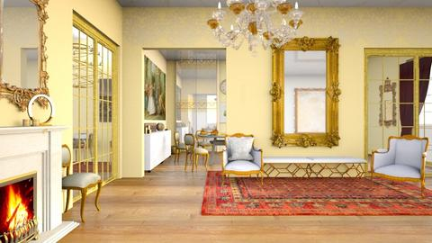 French Embassy Reception - Global - by LuluDesignStyle