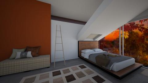 Autumn Bedroom - Bedroom  - by LivStyles09