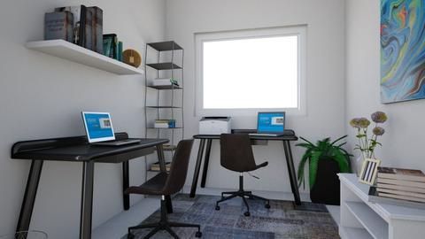 Home office_v1 - Office - by PerlaDelCastillo