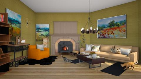 Autumn - Living room  - by colorful_eye