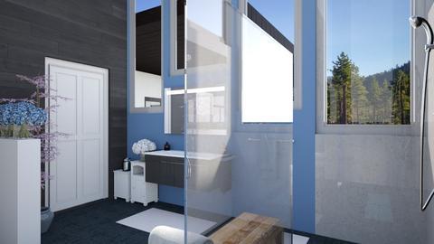 AV Guest Bath - Bathroom  - by Amyz625