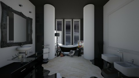 bh - Vintage - Bathroom - by Glendyx