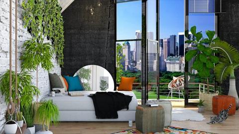 Urban Jungle - Bedroom  - by ArtHousedeco