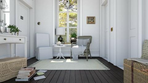 Quiet corridor 2 - Classic - by Leyvna