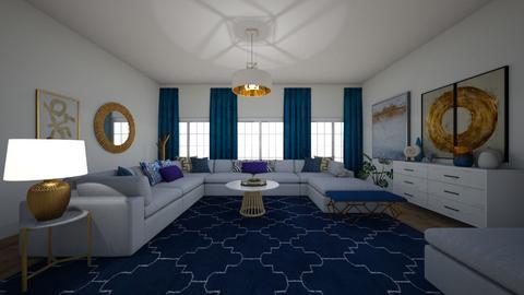 blue - Living room - by hejhejhejhej123