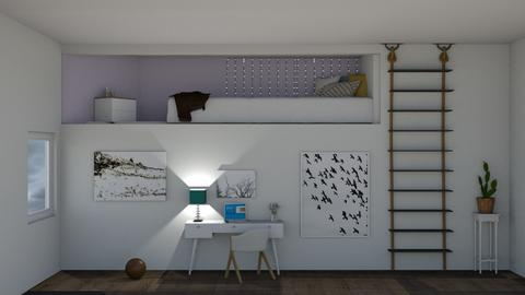 Bunk bed room - by Lillyqwerty123