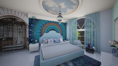 Moroccan bedroom - Bedroom - by TusaTimea
