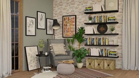 Corner - Living room  - by Lizzy0715