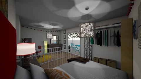 Upstairs Loft - Classic - Bedroom  - by Bekah Lynn