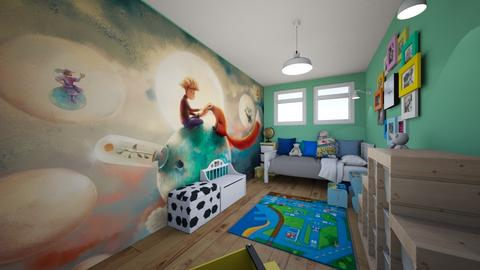 Boy - Kids room  - by joannaoliwa