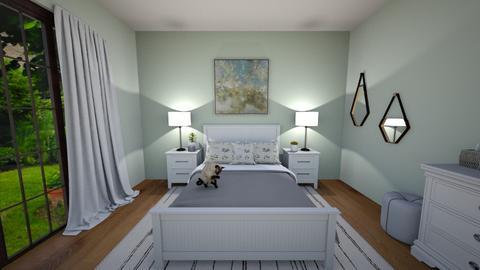 Sage Green - Bedroom  - by josielz