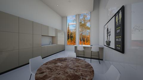 Logs and Stone - Rustic - Living room - by Marzio Gargiulo
