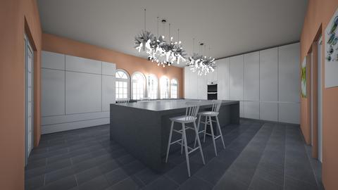 mansion kitchen - Classic - Kitchen  - by cinderella1111