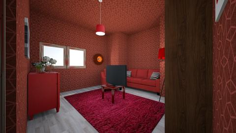 salotto rosso - Vintage - Living room  - by Newt Forever GM