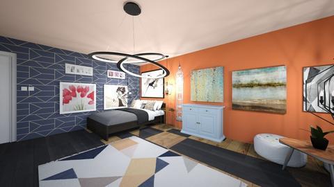 Maximalist Bedroom - Modern - Bedroom - by aubreelikesLandonandithinktheyareap