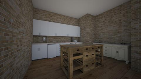 kitchen - by siennang