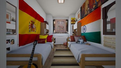 International Students - Bedroom  - by SammyJPili