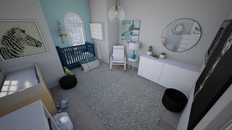 Cute boys room - Kids room  - by Chayjerad