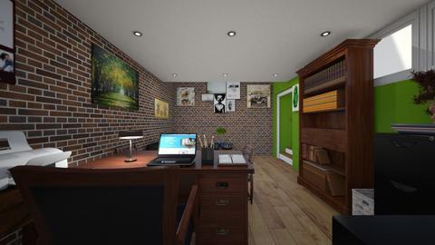 Basement Office - Office  - by SammyJPili