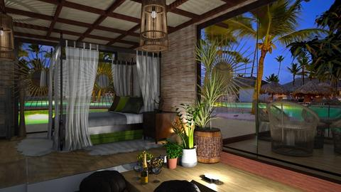 Bali Bedroom - Minimal - Bedroom  - by weltyr20