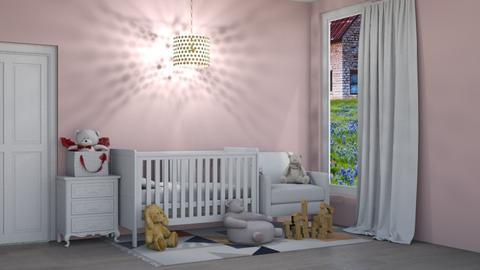 nursery1  - Kids room  - by cowplant_4life