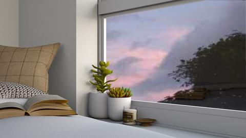 aesthetically pleasing - Bedroom  - by MilksDaBunz