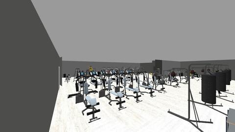 gym - by ahintzman2