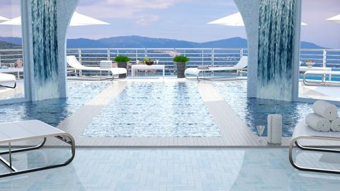 Hotel Pool Template - by Peony87