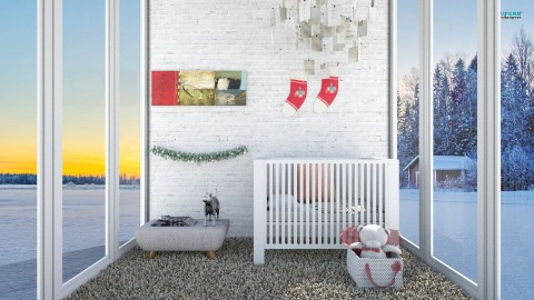 Babies christmas - Minimal - Bedroom - by bgref