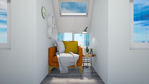 Calm Studio Hallway3 - Modern - by musicdesign22