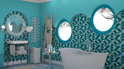 Azur - Glamour - Bathroom  - by HenkRetro1960