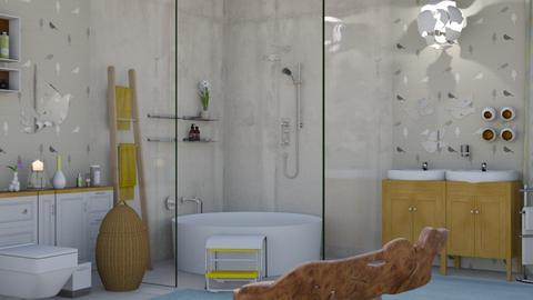 Bird bath room  - Bathroom  - by augustmoon