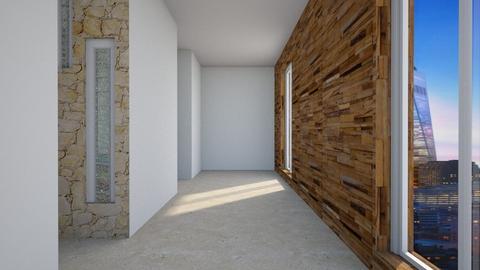 Modern playfull hallway - by Moonpearl