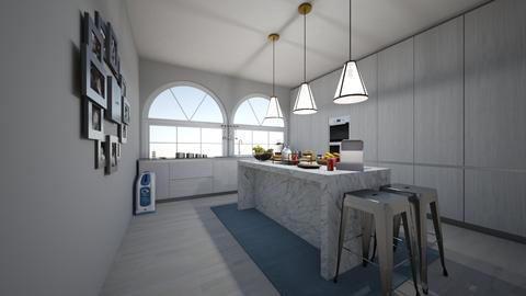 grey by the bay - Kitchen  - by 7087755443