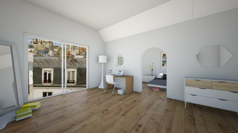 big view room - Minimal - Bedroom  - by franciss