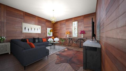 Wood - Living room  - by Emmachiavelique