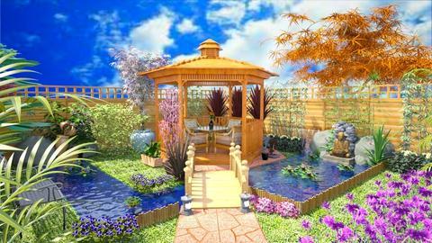 Chinese garden - Classic - Garden - by Bibiche