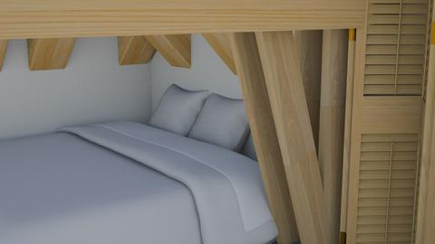 under the bunk bed - Modern - Kids room  - by matildabeast
