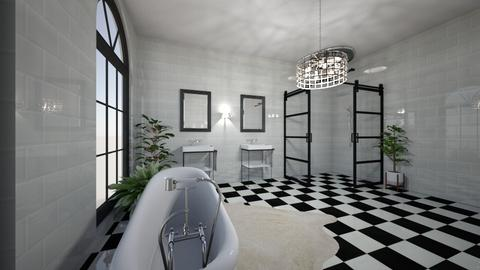 bathroooom - by Ana Monteiro