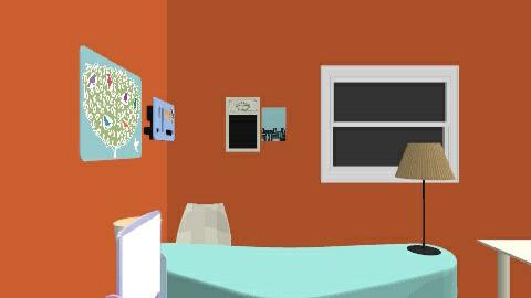 colour - Modern - Office  - by kikazsu