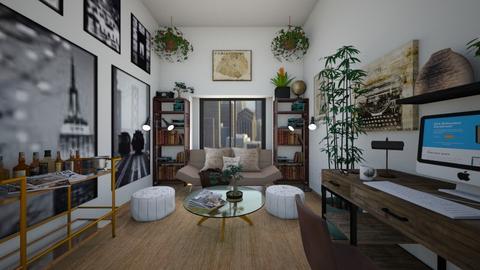 Futon - Living room  - by SammyJPili