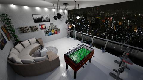 balkon resa - Living room  - by enotbillies
