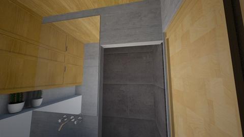 Grey Side1 - Bathroom - by RachDyer