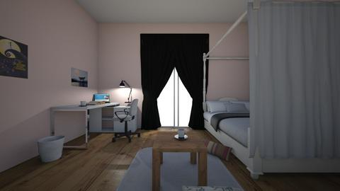 UA boku no hero room  - Modern - Bedroom  - by Lea7