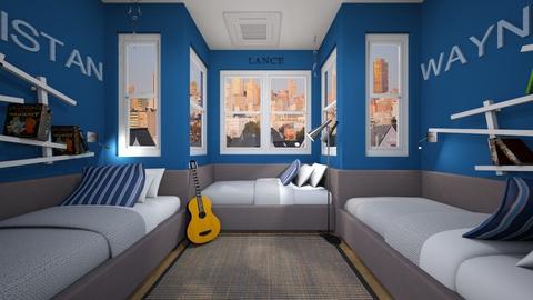 Room For Three - Bedroom  - by SammyJPili