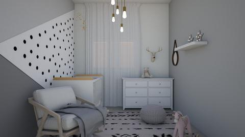 baby room _ 0121 - Kids room  - by Sefi Zohar